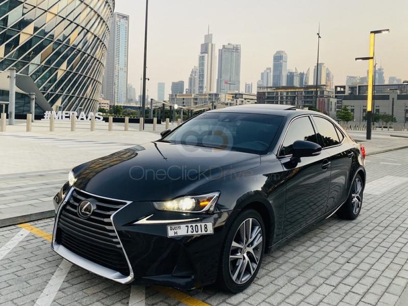 Hire Lexus IS Series - Luxury Car Dubai