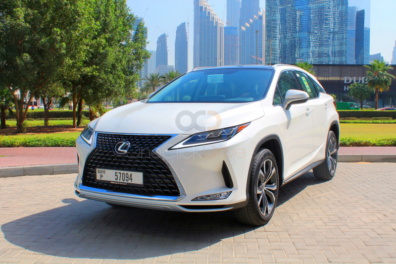 Book Lexus RX Series 2021 in Dubai
