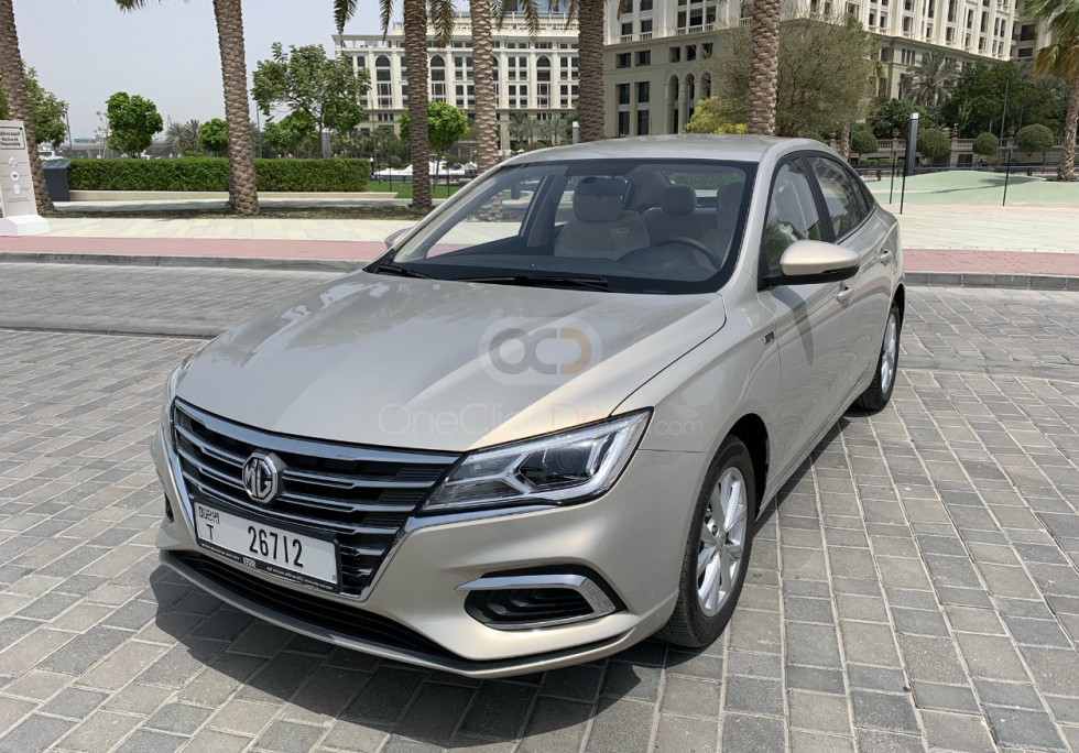 Rent MG 5 in Dubai - Sedan Car Rental