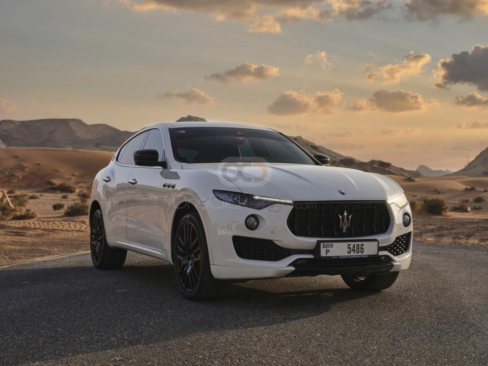 Rent Maserati Levante S in Dubai - SUV Car Rental