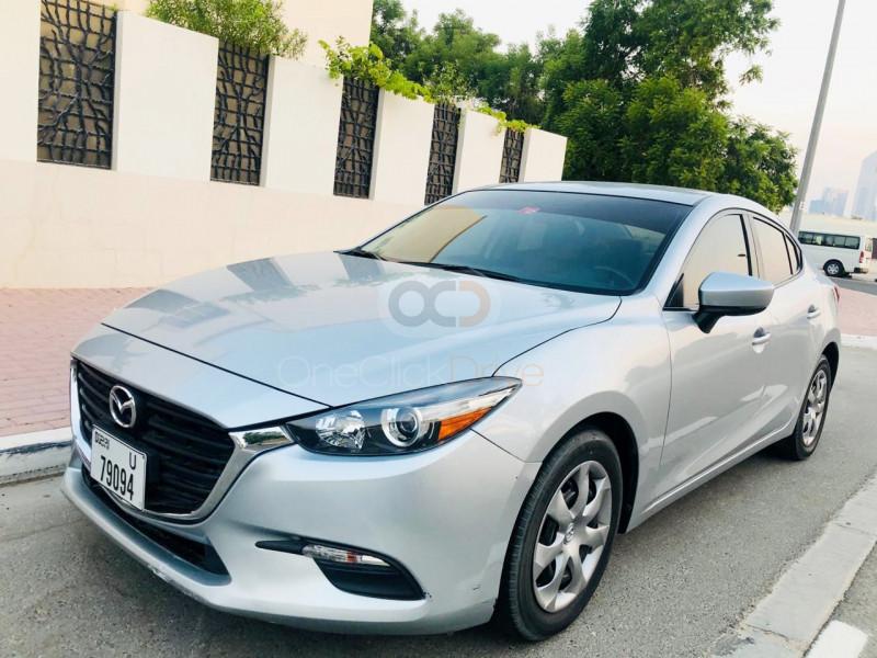 Rent Mazda 3 Sedan in Dubai - Sedan Car Rental