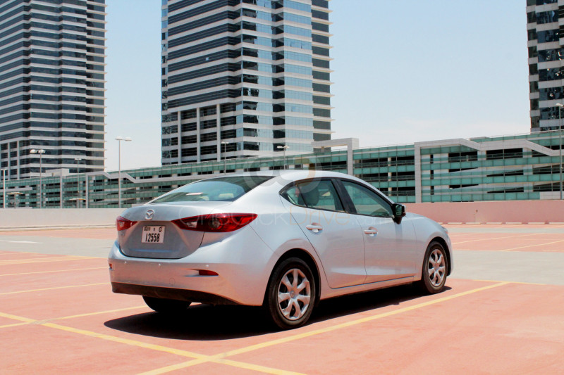 Book Mazda 3 Sedan 2019 in Dubai