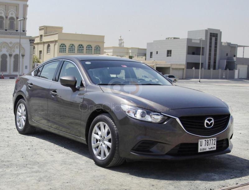 Rent Mazda 6 in Dubai - Sedan Car Rental