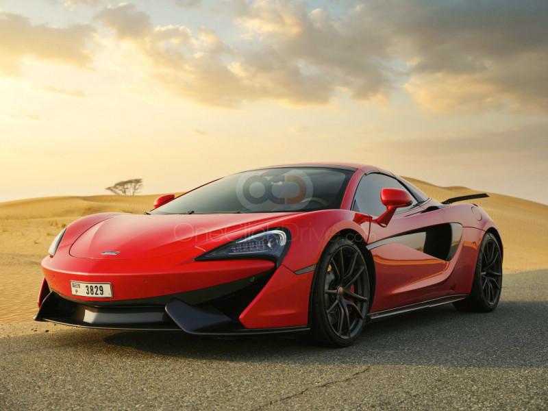 Book McLaren 570S Spyder 2019 in Dubai