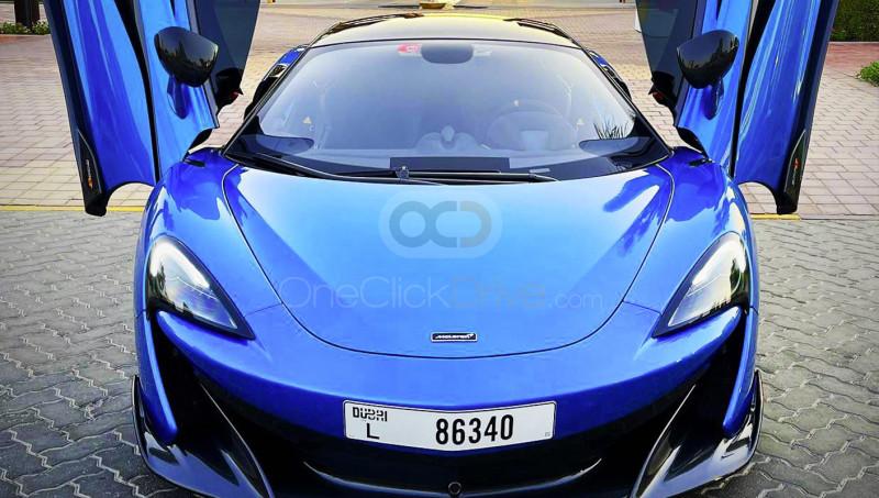 Rent McLaren 600LT in Dubai - Sports Car Car Rental