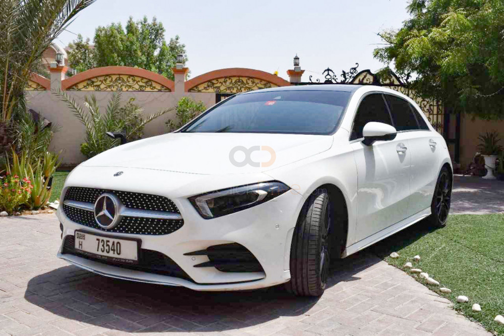 Rent Mercedes Benz A250 in Dubai - Compact Car Rental