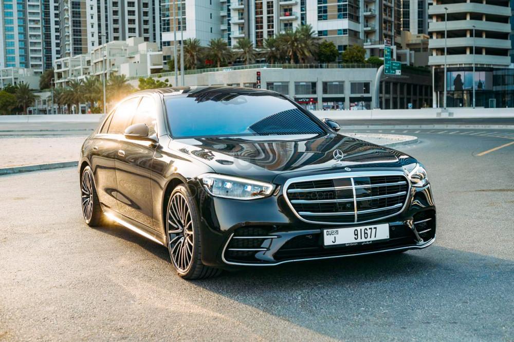 Rent Mercedes Benz S500 in Dubai - Luxury Car Car Rental