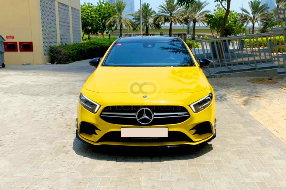 Rent Mercedes Benz AMG A35 in Dubai - Luxury Car Car Rental