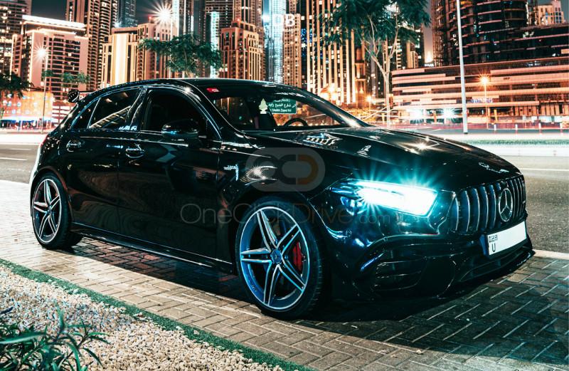 Rent Mercedes Benz AMG A45 in Dubai - Luxury Car Car Rental