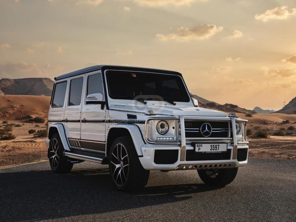 Rent Mercedes Benz AMG G63 Edition 1 in Dubai - SUV Car Rental