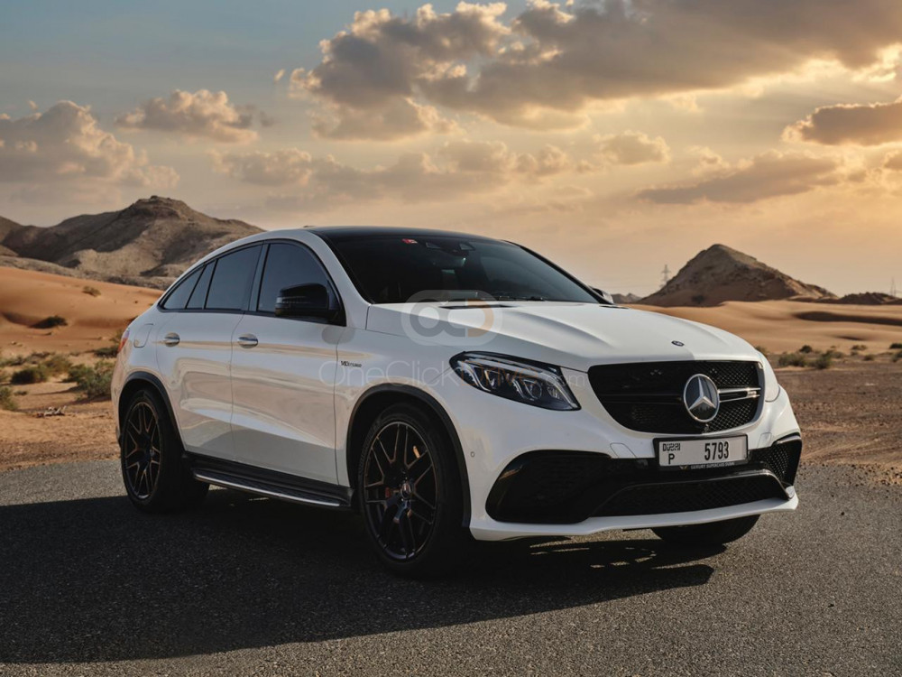 Rent Mercedes Benz AMG GLE 63 Coupe in Dubai - SUV Car Rental