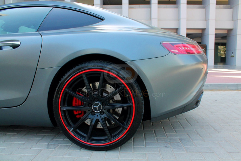 Book Mercedes Benz AMG GTS 2015 in Dubai