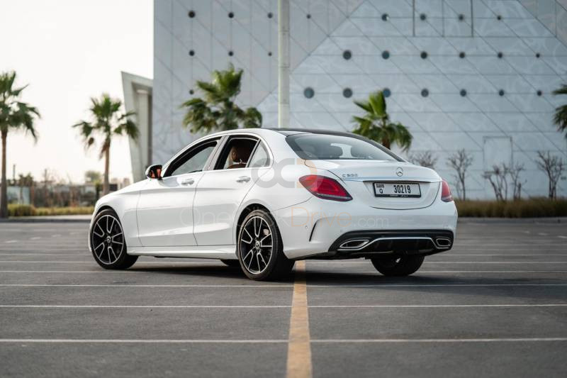 Rent 2020 Mercedes Benz C200 in Dubai UAE