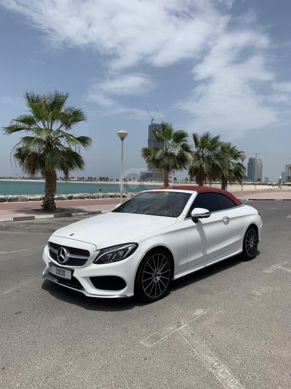 Book Mercedes Benz C200 Cabriolet 2018 in Dubai