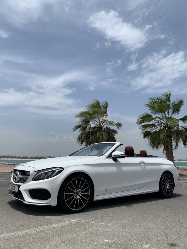 Hire Mercedes Benz C200 Cabriolet - Convertible Dubai