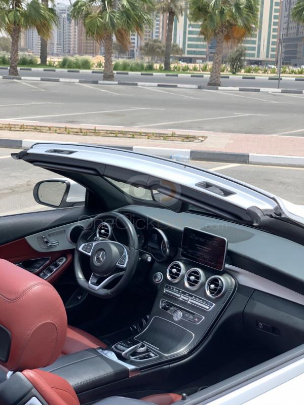 Rent 2018 Mercedes Benz C200 Cabriolet in Dubai UAE