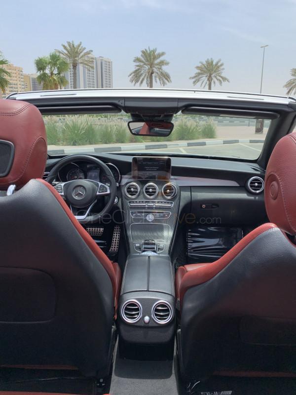 Mercedes Benz C200 Cabriolet 2018 Rental - Dubai