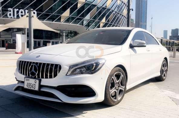 Rent Mercedes Benz CLA 250 in Abu Dhabi - Sedan Car Rental