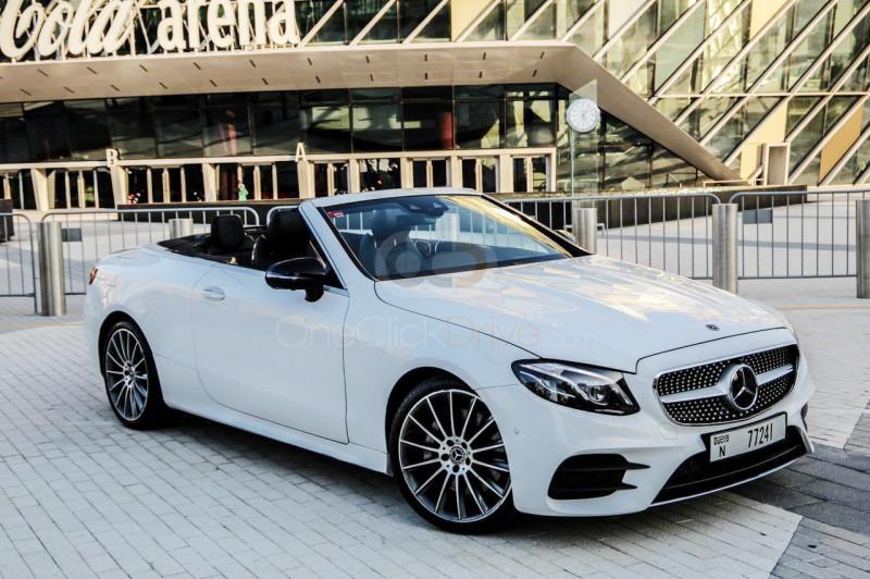 Rent Mercedes Benz E400 Convertible in Dubai - Convertible Car Rental