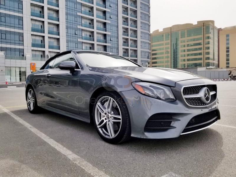 Rent Mercedes Benz E450 Convertible in Dubai - Convertible Car Rental