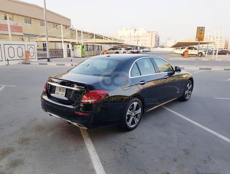Rent 2018 Mercedes Benz E Class in Dubai UAE