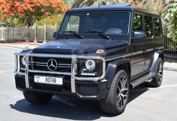 Rent Mercedes Benz G63 AMG in Dubai - SUV Car Rental