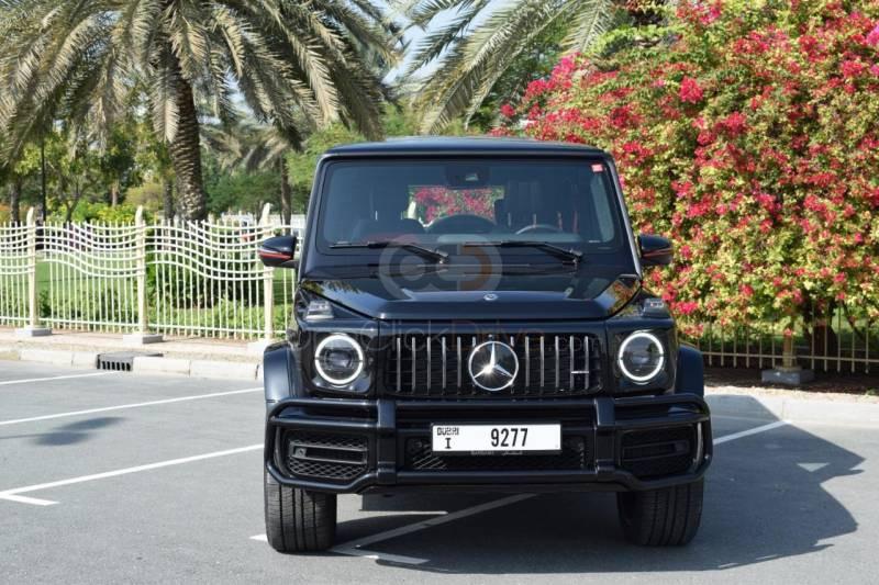 Rent Mercedes Benz AMG G63 in Abu Dhabi - SUV Car Rental