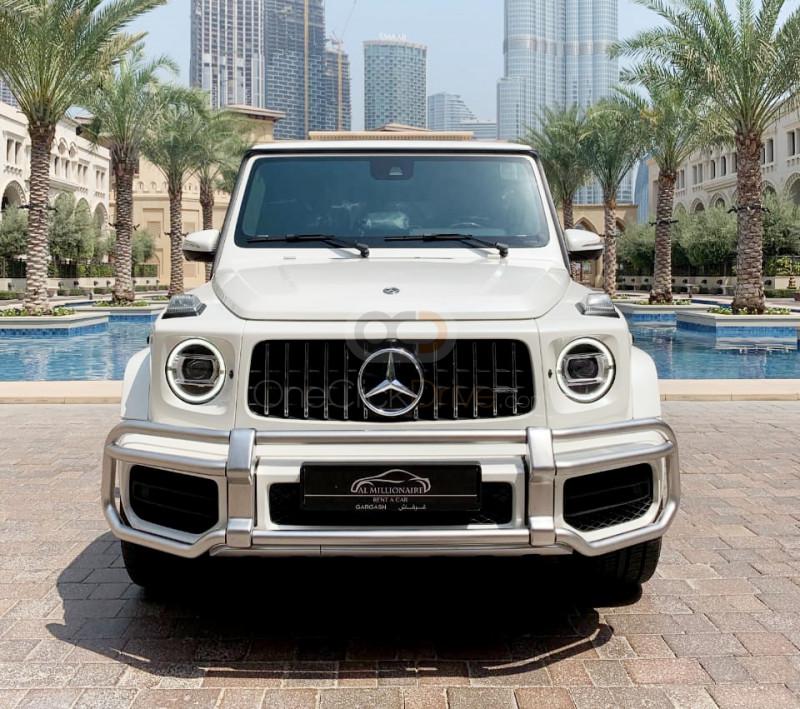 Rent Mercedes Benz AMG G63 in Dubai - SUV Car Rental