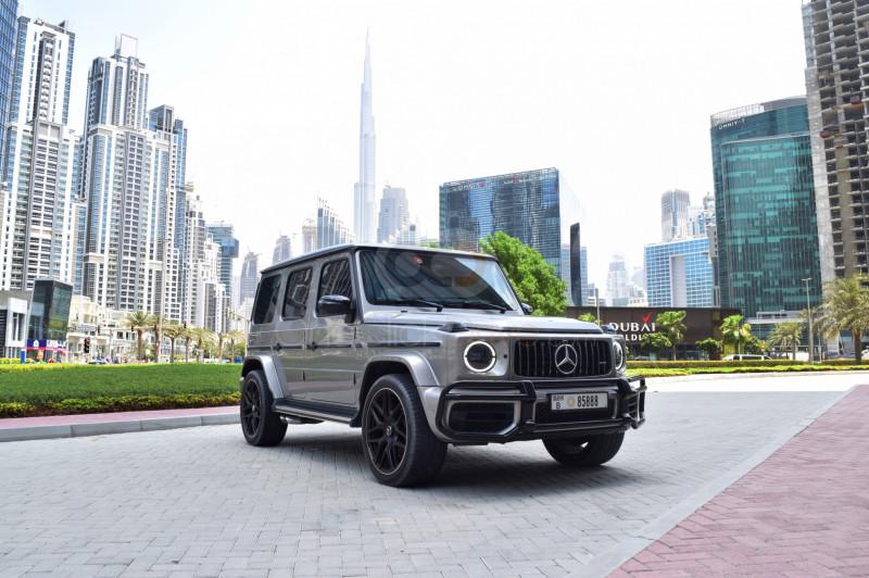 Rent Mercedes Benz G63 AMG Edition in Dubai - SUV Car Rental