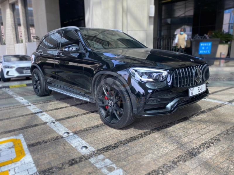 Rent Mercedes Benz AMG GLC 63S in Abu Dhabi - SUV Car Rental
