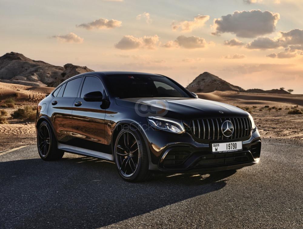 Rent Mercedes Benz AMG GLC 63S Coupe in Dubai - SUV Car Rental