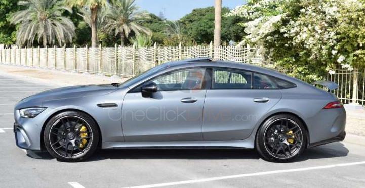 Rent 2019 Mercedes Benz GT63 AMG in Dubai UAE