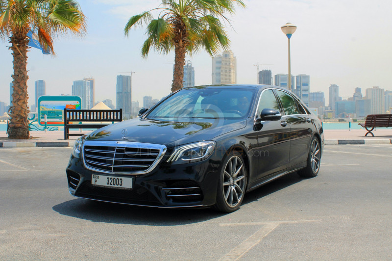 Rent Mercedes Benz S450 in Dubai - Luxury Car Car Rental