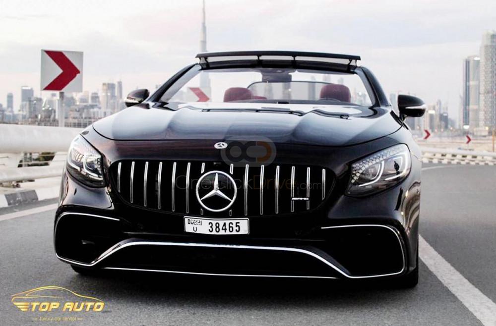Rent Mercedes Benz S500 Convertible in Dubai - Convertible Car Rental