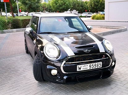 Rent Mini Cooper S in Dubai - Compact Car Rental