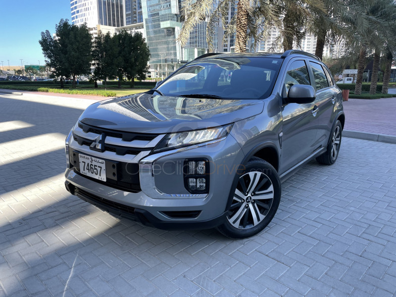 Rent Mitsubishi ASX 2021 car in Sharjah: Day, week ...