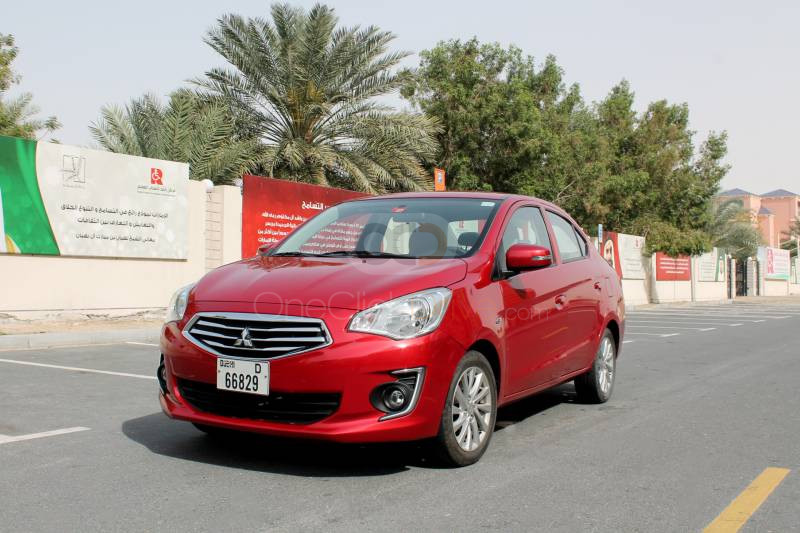 Rent Mitsubishi Attrage in Dubai - Sedan Car Rental