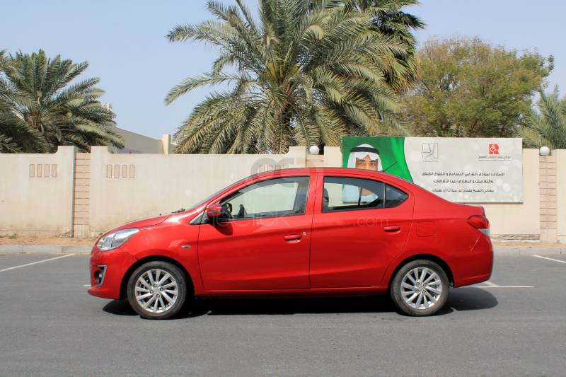 Hire Mitsubishi Attrage - Sedan Dubai