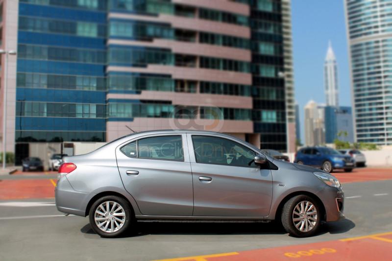 Hire Mitsubishi Attrage - Sedan Dubai