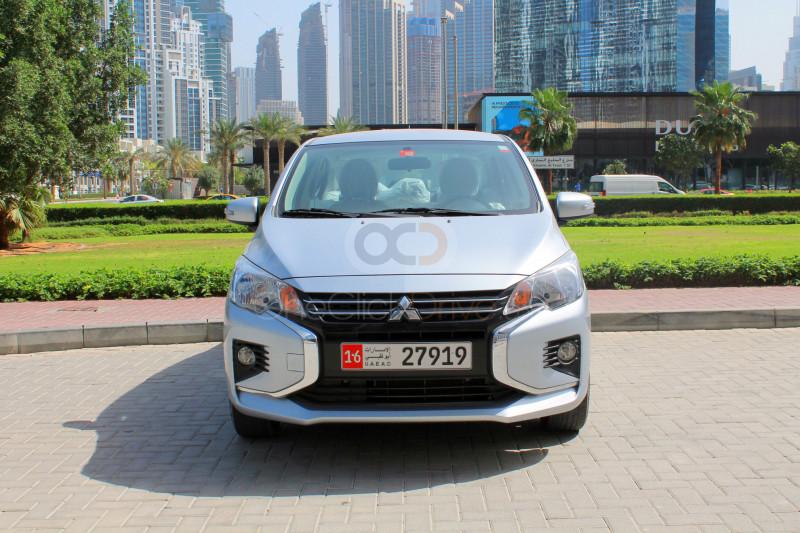 Book Mitsubishi Attrage 2021 in Dubai
