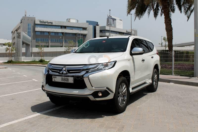 Rent Mitsubishi Montero Sport in Dubai - SUV Car Rental