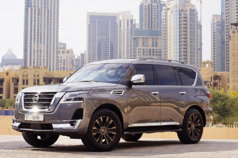 Book Nissan Armada 2018 in Dubai