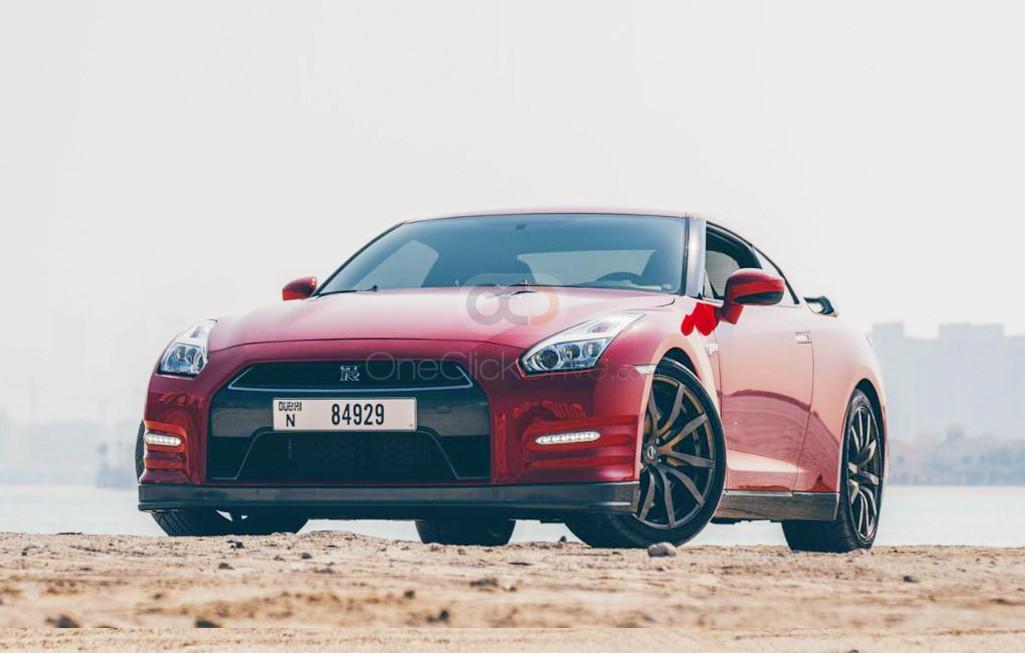 Rent Nissan GTR in Dubai - Sports Car Car Rental