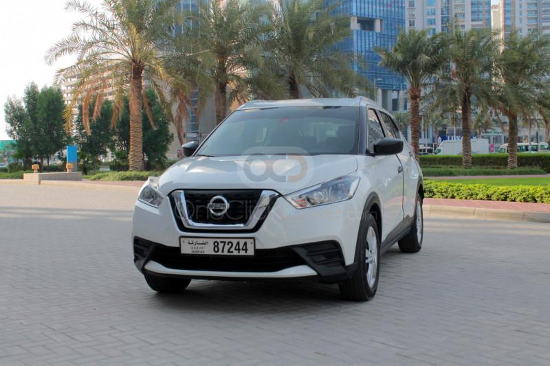 Rent Nissan Kicks in Sharjah - Crossover Car Rental