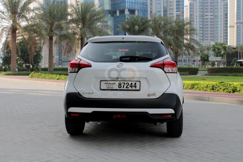 Rent 2019 Nissan Kicks in Sharjah UAE