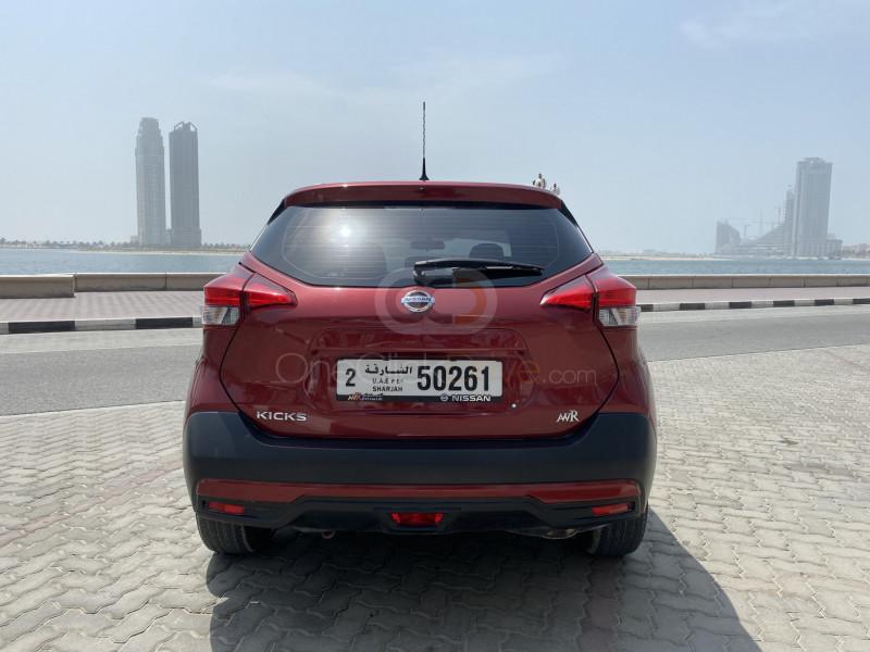 Book Nissan Kicks 2020 in Sharjah