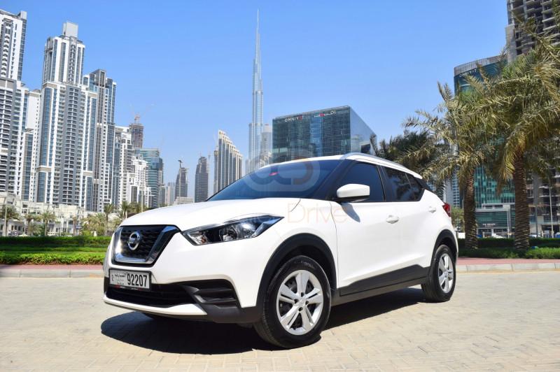 Book Nissan Kicks 2020 in Dubai