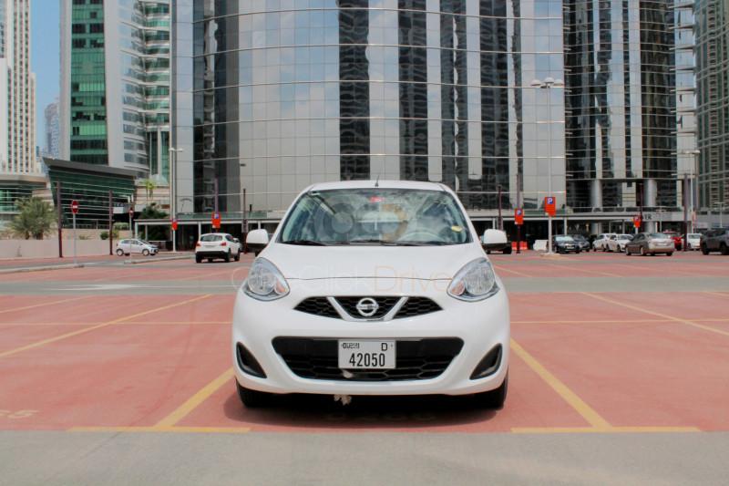 Rent 2020 Nissan Micra in Dubai UAE