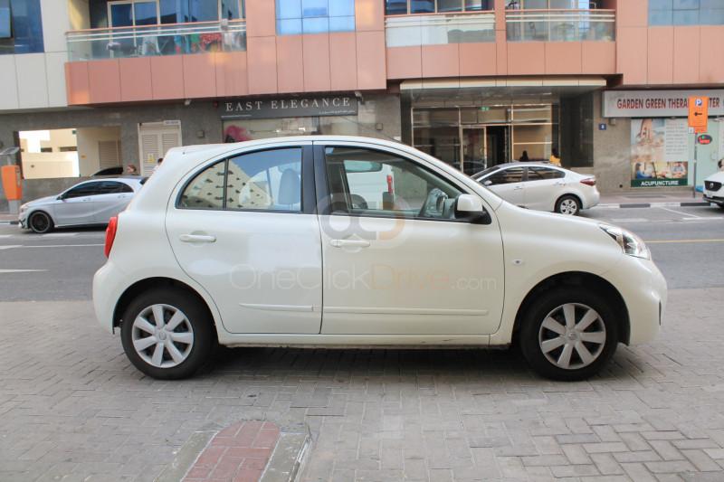 Hire Nissan Micra - Compact Dubai