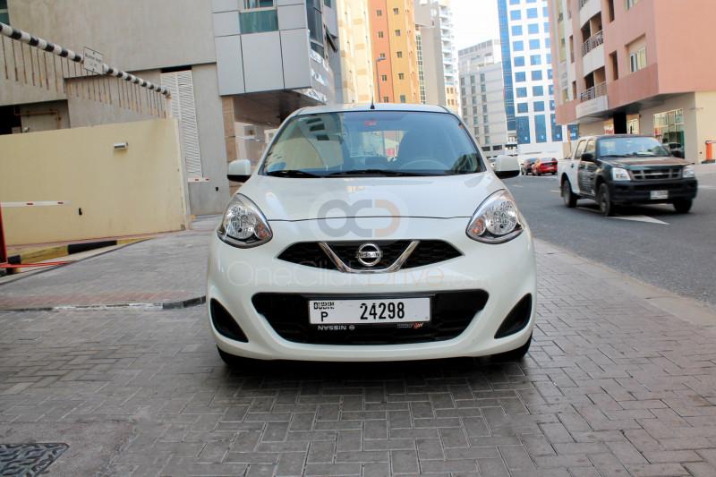 Book Nissan Micra 2020 in Dubai